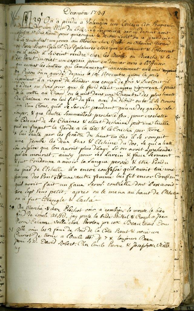 Prochaine exposition temporaire – Des fantômes aux musées : écrits quotidiens aux 17e et 18e siècles