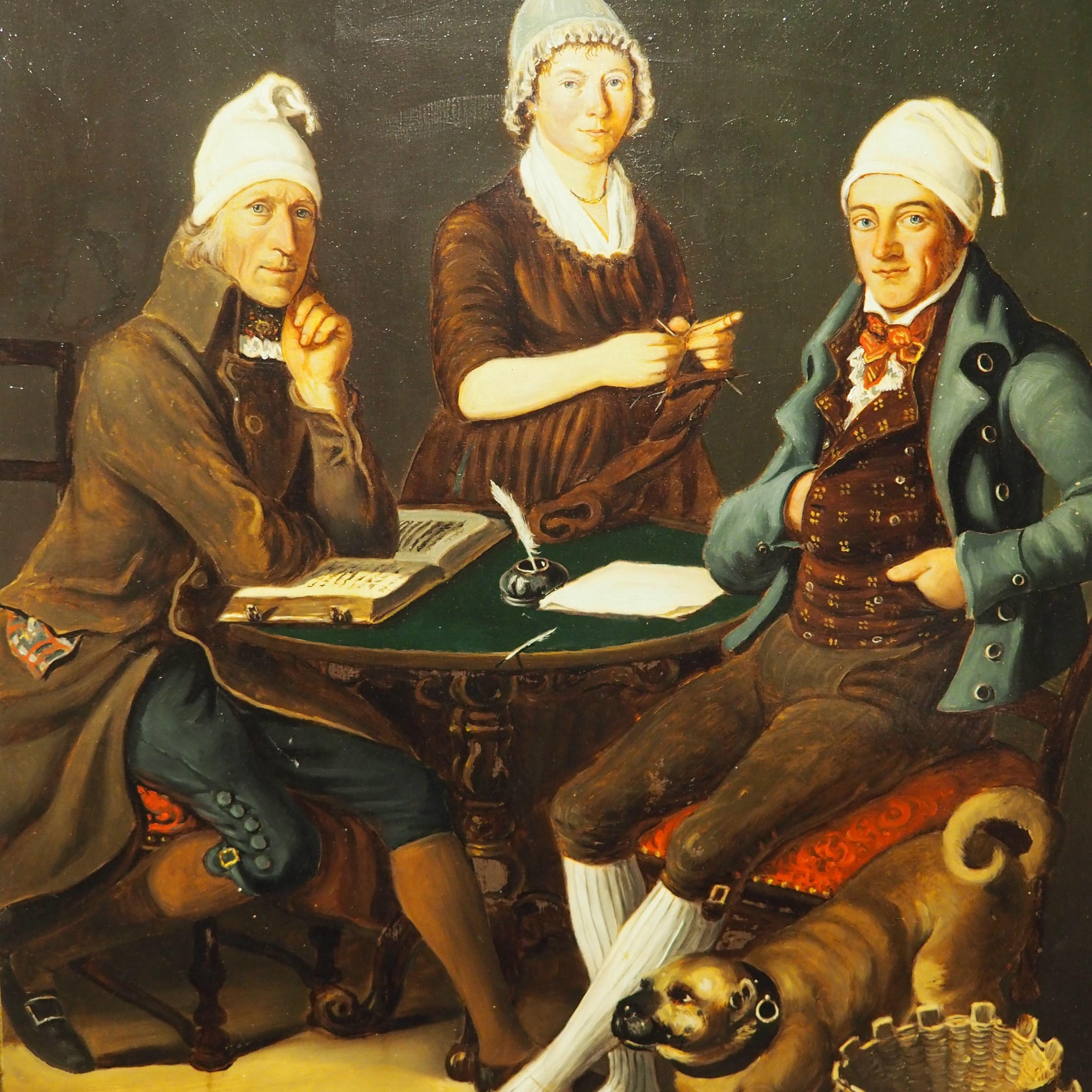 Des fantômes aux musées – <br/> Ecrits quotidiens aux 17e et 18e siècles